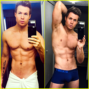 Ashley Parker Angel's Shirtless Selfies Keep Getting Better!