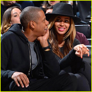Beyonce & Jay Z Watch Nets' Kevin Garnett Headbutt Dwight Howard During Basketball Game