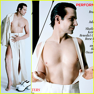 Bradley Cooper Goes Nearly Nude for Artsy W Magazine