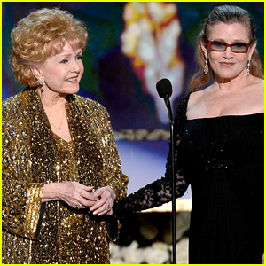 Debbie Reynolds Receives SAG's Lifetime Achievement Award from Daughter Carrie Fisher (Video)