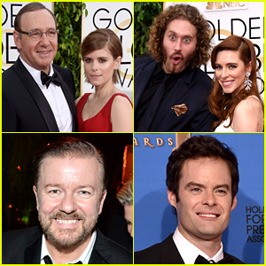 Celebrities Took a Breathalyzer Test on the Golden Globes 2015 Red Carpet - Watch Now!