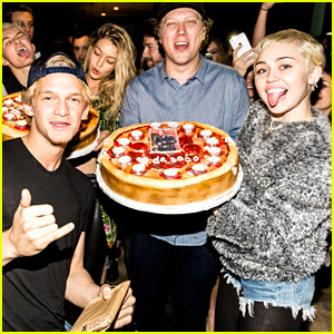 Cody Simpson Parties with Justin Bieber & Miley Cyrus During 18th Birthday Party (Photos)