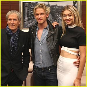 Gigi Hadid Globe Trots With Cody Simpson To China's Huading Awards