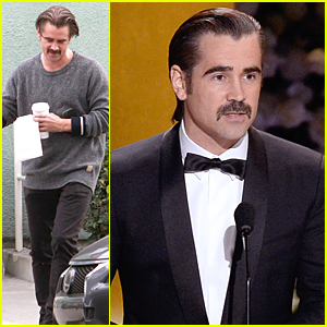 Colin Farrell's Mustache Gets the Web Buzzing at SAG Awards 2015