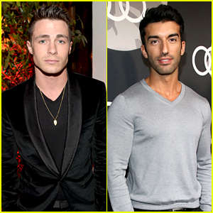 Colton Haynes & Justin Baldoni Bring the Hot Factor to Golden Globes Parties!