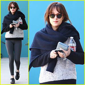 Dakota Johnson Kicks Off New Year By Getting Fit For 'Fifty Shades of Grey' Promo Tour!
