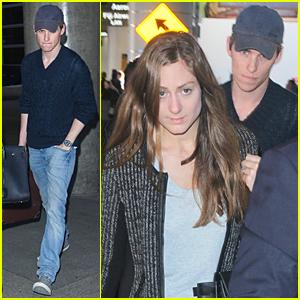 Eddie Redmayne & New Wife Hannah Bagshawe Hit Los Angeles Before Award Season Kicks Off!