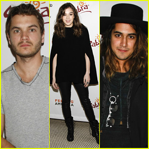 Emile Hirsch & Hailee Steinfeld Celebrate 'Ten Thousand Saints' with Cast Dinner at Sundance