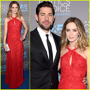 Emily Blunt & John Krasinski Couple Up at the Critics Choice Awards 2015