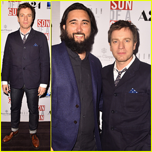Ewan McGregor Steps Out in WeHo for 'Son Of A Gun' Screening with Director Julius Avery!