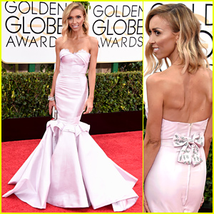 E!'s Giuliana Rancic Keeps It Red Carpet Chic at the Golden Globes 2015!