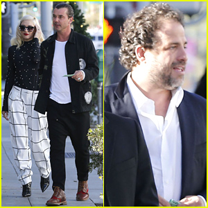 Gwen Stefani & Gavin Rossdale Have a Lunch Meeting with Producer Brett Ratner