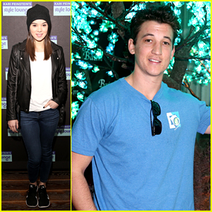 Hailee Steinfeld & Miles Teller Stock Up on Goodies at Pre-Golden Globes Gift Lounge!