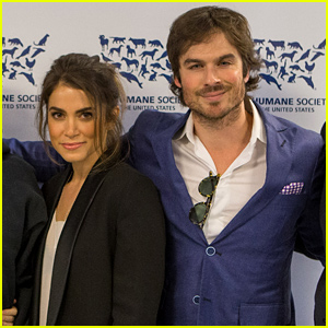 Ian Somerhalder & Nikki Reed Celebrate with the Humane Society for the Protection of Farm Animals