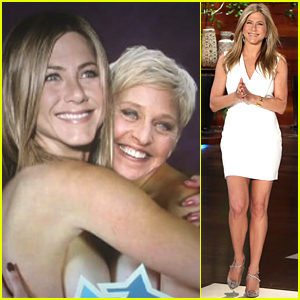 Jennifer Aniston Talks Her Oscar Snub & Goes Topless with Ellen DeGeneres!
