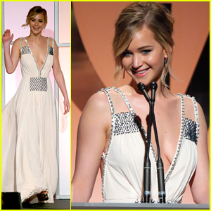 Jennifer Lawrence Gives Hilarious PGA Speech - Watch Now!