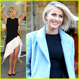Julianne Hough Shows Off Her Signature 'Swirl' Dance With Gillette