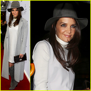 Katie Holmes Hits the Marc Cain Show During Berlin Fashion Week