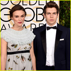 Pregnant Keira Knightley Baby Bumps It to Golden Globes 2015