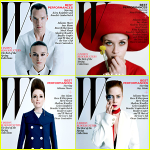Keira Knightley, Reese Witherspoon, & More Cover 'W' Magazine's Best Performances Issue