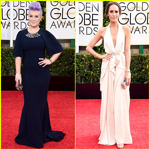 Kelly Osbourne & Louise Roe Are Red Carpet Ready at the Golden Globes 2015!