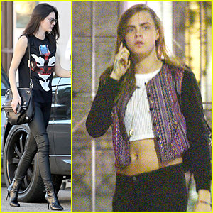 Kendall Jenner Helps Cara Delevingne Mourn Grandmother's Death