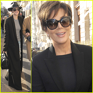 Kendall Jenner Mom Kris Shop At Ysl Ahead Of Paris
