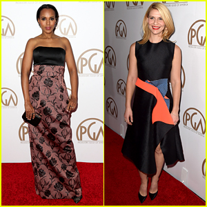 Kerry Washington & Claire Danes Glam Up PGA Awards 2015