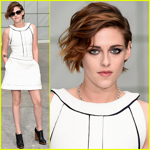 Kristen Stewart Makes It to Paris for P
