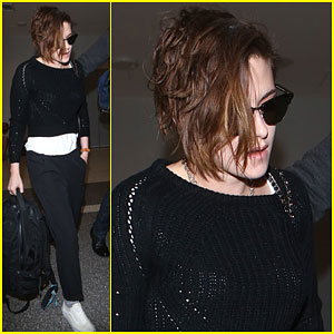Kristen Stewart Gets Out of L.A. for a Little