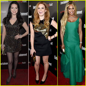 Laura Prepon & 'OITNB' Cast Party with EW Before SAG Awards