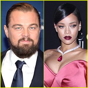 Leonardo DiCaprio & Rihanna Caught Kissing at Playboy Mansion?