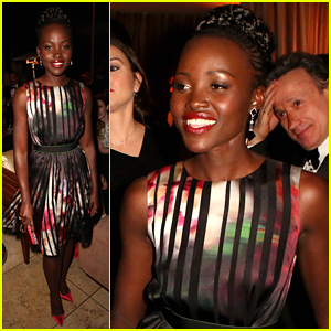 Lupita Nyong'o Switches Up Her Look for Weinstein & Netflix's SAG Awards 2015 After Party