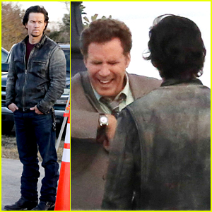Mark Wahlberg Makes Will Ferrell Crack Up Between Takes