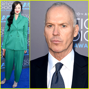 Michael Keaton Suits Up to Attend Critics' Choice Awards 2015