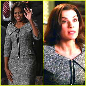Michelle Obama Channels The Good Wife's Alicia Florrick!