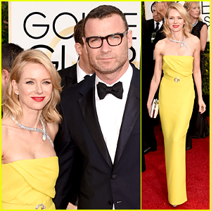 Naomi Watts & Liev Schreiber Are One Hot Golden Globes Pair!
