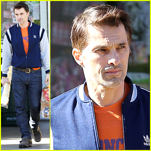 Olivier Martinez Steps Out Solo After Airport Scuffle