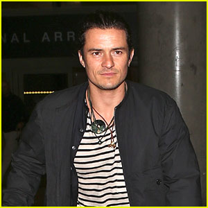 Orlando Bloom Returns Home After Filming 'Unlocked ...
