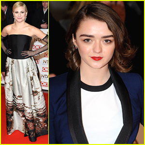 Maisie Williams & Pixie Lott Celebrate National Television Awards 2015