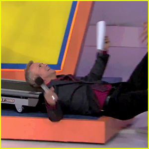 Price Is Right's George Gray Falls Off Treadmill During Show!