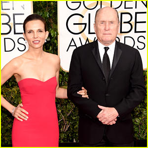 Robert Duvall Brings Wife Luciana to Golden Globes 2015
