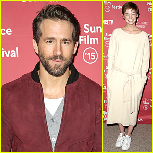 Ryan Reynolds Makes First Appearance as a New Dad!