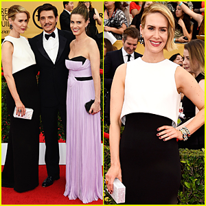 Sarah Paulson & Pedro Pascal Are Picture Perfect BFFs at SAG Awards 2015