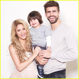 Shakira Displays Large Baby Bump in Adorable Family Portrait For Their 'World Baby Shower'