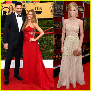 Sofia Vergara & Joe Manganiello Couple Up at SAG Awards 2015!