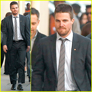 Stephen Amell Got His First Job on 'Jimmy Kimmel Live'