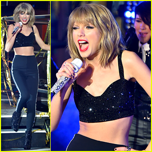 Taylor Swift's New Year's Rockin' Eve 2015 Performance (Video)