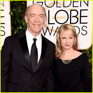 Whiplash's J.K. Simmons Brings Wife to Golden Globes 2015 ...