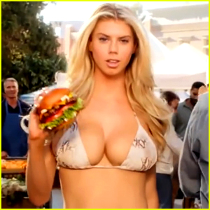 Who is the Carl's Jr. Commercial Girl? Meet Charlotte McKinney!